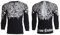 Xtreme Couture AFFLICTION Mens THERMAL T-Shirt AUTUMN Tattoo Biker M-3XL $58
