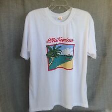 RC XL Philippines White Tee Shirt