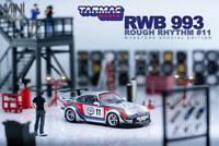 Tarmac Works 1:64 Porsche RWB RAUH-Welt 993 Rough Rhythm #11 Martini
