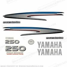 Yamaha Outboard Motor Decal Kit 250hp four Stroke Kit - Marine Grade Decals 4S