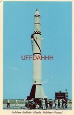 """REDSTONE BALLISTIC MISSILE, HUNTSVILLE, AL. the Army's """"Sunday Punch"""""""