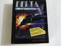PC DELTA V Bethesda 1994 3+ (MS DOS 5.0 - CD-Rom) Shooter BIG BOX RARE