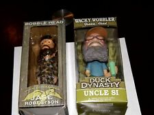 NEW! Jase Robertson & Uncle SI Duck Dynasty Duck Commander Bobblehead AE TV !WOW
