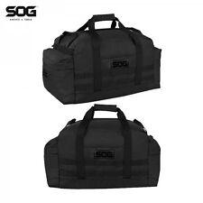 SOG Siege Tactical Duffel Bag Skull Black Molle w Shoulder Straps Pack Backpack