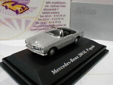 """Schuco 26181 # mercedes-benz 280 sl p agode año de construcción 1968 """"plata-metalizado"""" 1:87"""