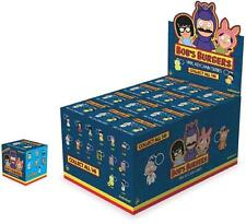 BOB'S BURGERS ONE FULL CASE OF 24 BLIND BOX VINYL FIGURE KEYCHAIN BY KIDROBOT