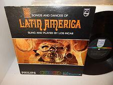 LOS INCAS Songs and Dances of Latin America 1967 PHM-200-237 Mono Clean Nice LP