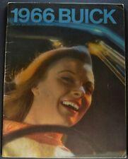 1966 Buick Large 56pg Brochure Skylark GS Wildcat Riviera Electra 225 LeSabre