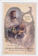 Künstler Ak Elsner, SCHUBERT Lieder, Die schöne Müllerin, Franz Schubert,