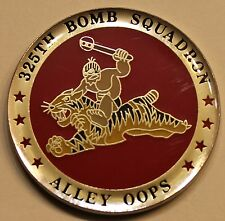 325th Bomb Sq Alley Oops B-2 Stealth Bomber Air Force Challenge Coin