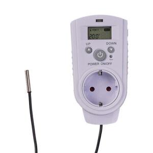 Universal Thermostat LCD Display digital Temperaturschalter Heizen Kühlen Klima