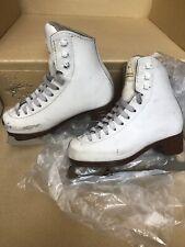 Jackson Mystique Ice Skates Figure Skates 1491 White Girl's Size 12.5 C
