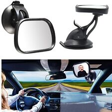 ADJUSTABLE BABY CAR MIRROR BACKSEAT REAR VIEW MIRROR TODDLER SUCTION CUP MIRROR