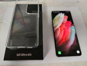 Samsung Galaxy S21 Ultra 5G SM-G998B/DS - 128GB - Phantom Black (Ohne Simlock)
