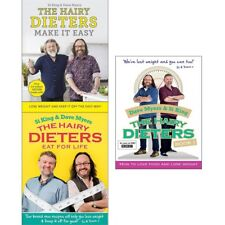 Hairy Bikers Collection 3 Books Set Dieters Make It Easy How to Love Food PACK