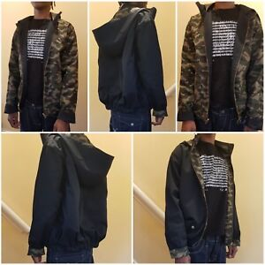 Men's Reversible Casual Jacket Spring & Fall / Winter Fashion Sizes Small-Large