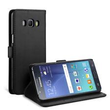 [Neue Version]Samsung Galaxy J5 2016 Leder Hülle, Simpeak Flip Wallet Case Cover