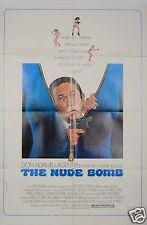 1980 THE NUDE BOMB 1SH ORIGINAL MOVIE POSTER GET SMART DON ADAMS SECRET SPY