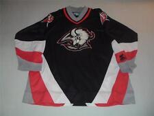 NATHANIEL 88 Buffalo SABRES Black NHL Hockey Jersey Youth L/XLarge Starter used