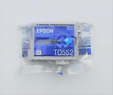 GENUINE EPSON T0552 CYAN ink cartridge STYLUS PHOTO R240 R245 RX420 RX425 RX520