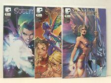 PRIMO:  SOULFIRE #4B 4C 4D NM lot Turner Campbell Lee variants Aspen comics h5.1