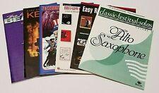 Alto Saxophone Music Books (Lot of 6)