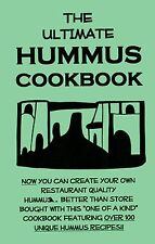 the ULTIMATE HUMMUS Cookbook dips PITA BREAD arabic NEW