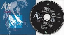 ALVIN LEE - Zoom - rare Org BLUE MARTIN REOCRDS CD-Issue/Swiss 1992/BLUES ROCK