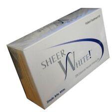 2 NEW SHEER WHITE Teeth Whitening Strips 20% Teeth Bleaching Kit