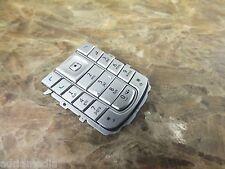 Original Nokia 6230i Tastatur SilberTastenmatte for Phone 6230 SilverKeypad NEU