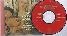 "Mormon Tabernacle Choir    ""Joy To The World""      92 Sony CD"