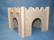Praktisches Kaninchen Meerschwein Haus zerlegbar Burg Schweinchen Kaninchen