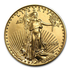 1992 1/2 oz Gold American Eagle BU - SKU #4724