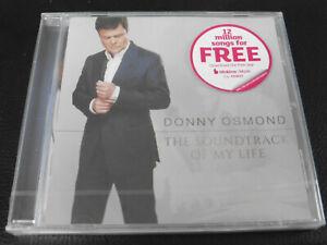 DONNY OSMOND - THE SOUNDTRACK OF MY LIFE - NEW / SEALED CD