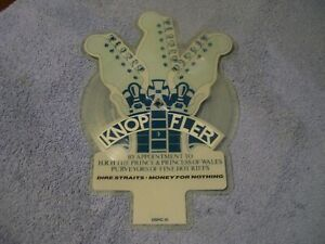 """DIRE STRAITS - MONEY FOR NOTHING - RARE SHAPED PICTURE DISC - IMPORT - 7"""" (NM)"""