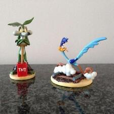 Extremely Rare! Looney Tunes Wile E Coyote & Road Runner Small Figurine Statues