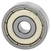 10Pcs Double-Sided Seal Bearing Steel Deep Groove Pulley Wheel Ball Bearing