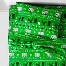 Minecraft Flannel Sheet Set - (Full)