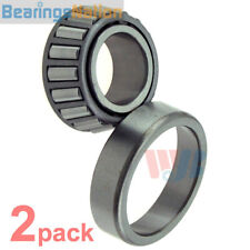 2 x Rear Wheel Bearing & Race Tapered Roller Bearing WJB WTA1 Cross A-1 SET1 BR1