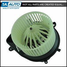 Heater Blower Motor with Fan Cage & Regulator for VW Passat Audi A4 S4 New