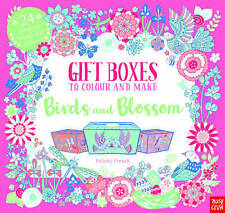 The Gift Boxes to Colour and Make: Birds and Blossom by F French NEW (P/B 2017)
