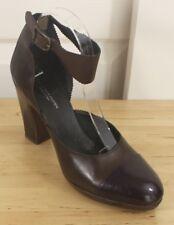 Dries Van Noten Brown & Purple Cap Toe Heel Amputee Single Right Shoe Only Sz 40