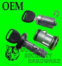 Silverado Sierra Others 07-13 Ignition Lock Cylinder Door Spare Tire Set 2 Keys