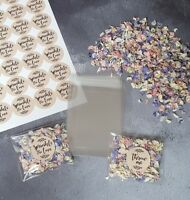 KIT - CONFETTI PACK -Wedding Natural Petal Confetti