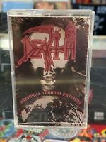 DEATH Individual Thought Patterns cassette tape Relativity 1993