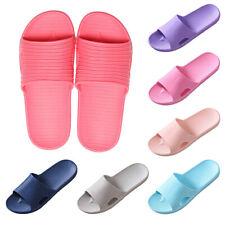 New Shower Slippers Women Men Bathroom Slides Soft EVA Home Shoes Summer Sandals