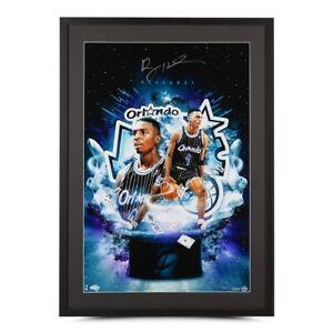 "Penny Hardaway Signed Autographed 20X30 Framed Photo ""Magician"" Magic #/25 UDA"