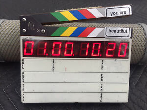 Denecke Timecode Slate model TS-C with all TC formats + Glowing Backlight