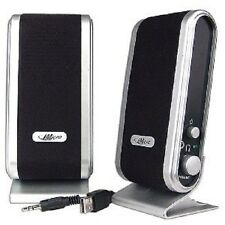 iMicro SP-IMD168B 2-Piece 2 Channel USB Powered Multimedia Speaker Set