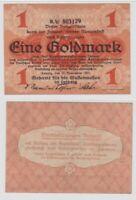 1 Goldmark Banknote Leipzig Meßamt für Mustermessen 13.11.1923 (135563)